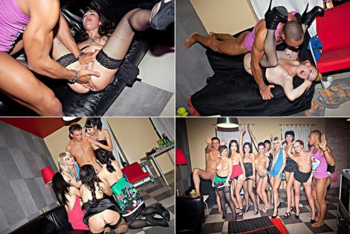 YANI, DEMI, AMELIA, ADELLE, ANNIKA, SOFIE, YIKI, ZARA - Fake B-day Party For Horny College Chicks (HD 720p) - StudentSexParties - [2020]