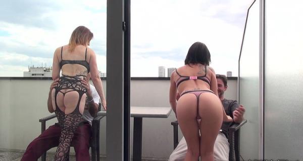 Amel et Missy folatrent - Amel Annoga, Missy Charme [JacquieEtMichelTV] (FullHD 1080p)