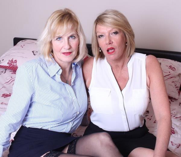 Mature lesbians eating eachothers pussy - Molly V. (EU) (51), Amy (EU) (52) [Mature.nl] (HD 720p)