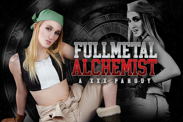 Victoria Gracen - Full Metal Alchemist A XXX Parody (vrcosplayx) UltraHD/2K 1440p