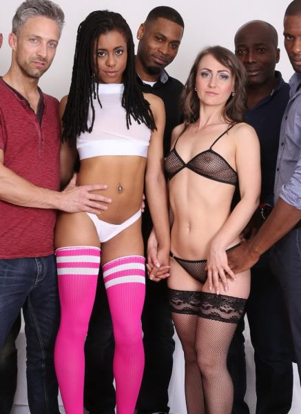 Angel Karyna, Kira Noir - Angel Karyna, Kira Noir - oh my god double anal, fisting buffet. No race, just sex enjoyment (Part 1) IV078 (HD 720p) - LegalPorno - [2020]