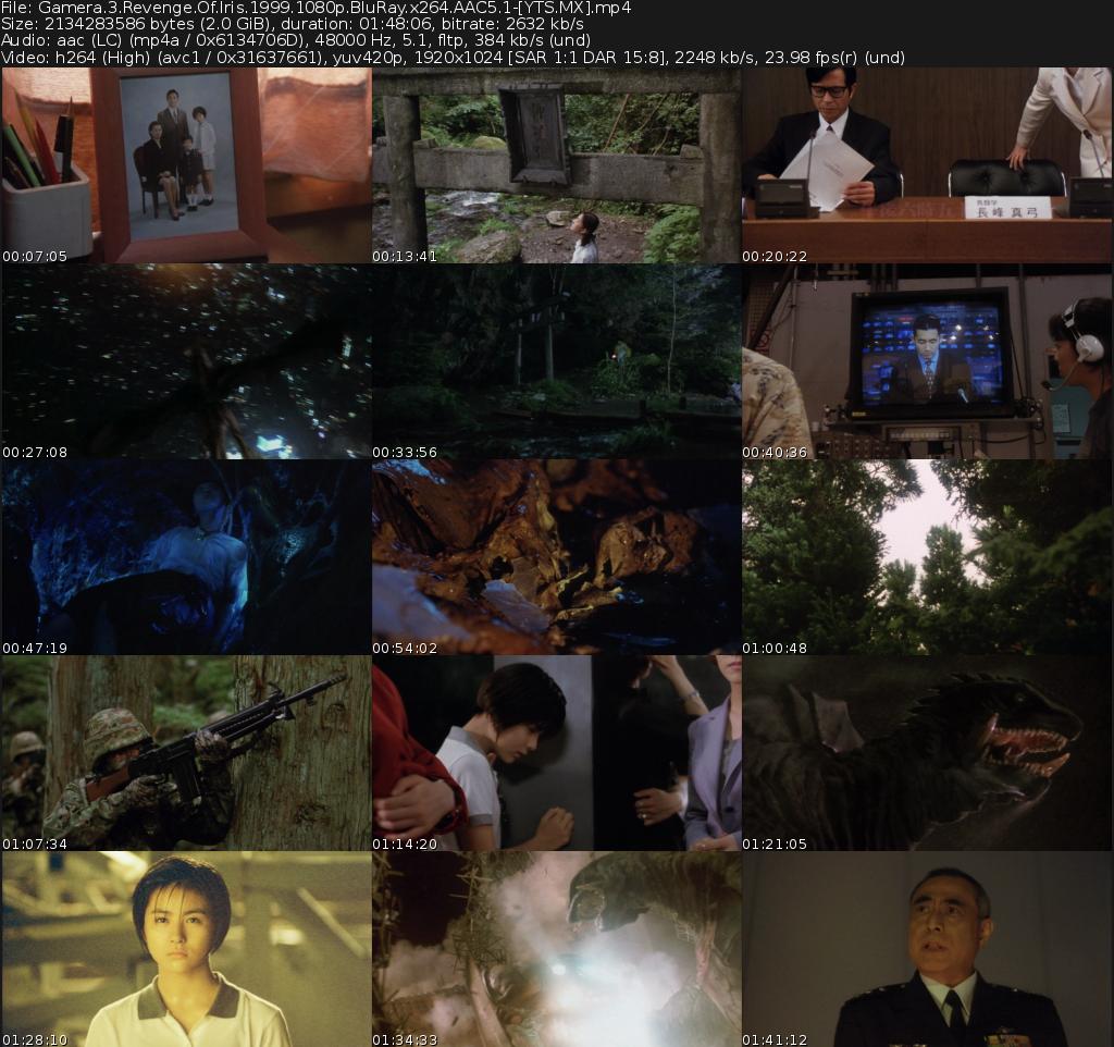 ガメラ3 邪神<イリス>覚醒 Movie
