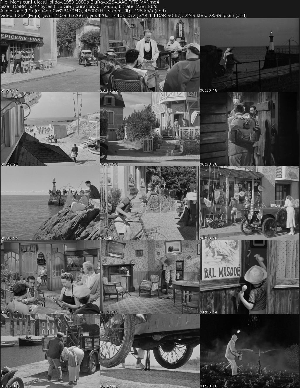 Les vacances de Monsieur Hulot Movie