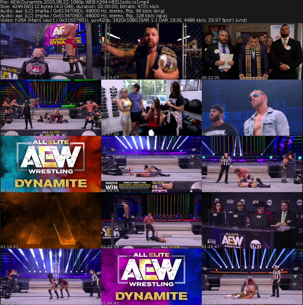 All Elite Wrestling: Dynamite Movie