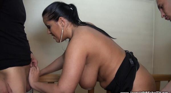 JacquieEtMichelTV: Tatyana Da Oliveira - Tatiana, trio hot avec deux lascars (FullHD) - 2020
