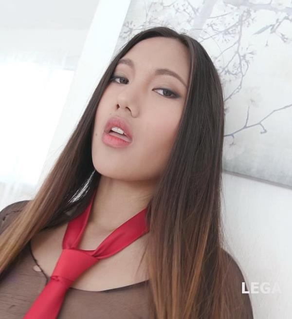 May Thai, George Lee, Neeo, Thomas Lee, Max Born, Rycky Optimal - Facialized 10on1 DAP gangbang May Thai gets Balls Deep Anal DAP TP Facial GIO644 [HD 720p] 2020