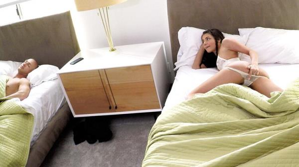 Caught! Horny Step-Sister Slides Into Brother's Bed - Adria Rae [SpyFam] (FullHD 1080p)